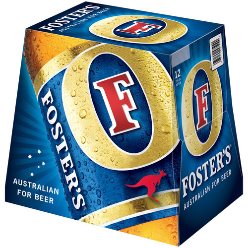 Foster's Lager, 12 oz, 12pk