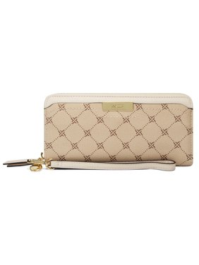 Nine West Women's Kennedy Zip Around Wallet - Pecan
