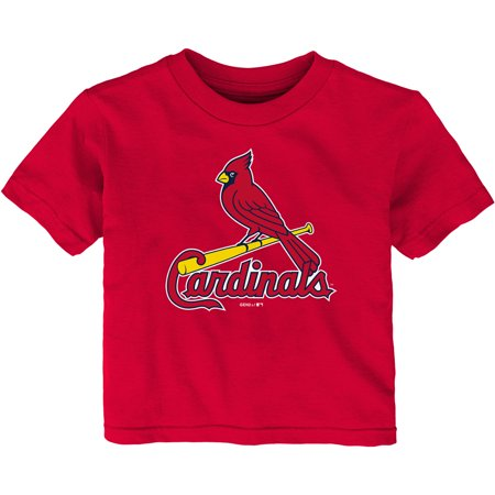 St. Louis Cardinals Infant Team Primary Logo T-Shirt - Red