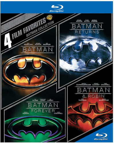 4 Film Favorites: Batman Collection (Blu-ray) by WARNER HOME VIDEO