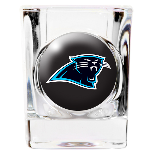 Carolina Panthers Square Shot Glass 2 oz. by