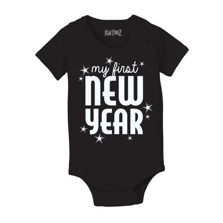 My First New Year Holiday Celebration Stars Cute Fun Party Infant Baby Bodysuit](My First Halloween Onesie Babies R Us)