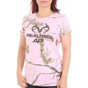 Women's Camo Logo Performance Short Sleeve Tee