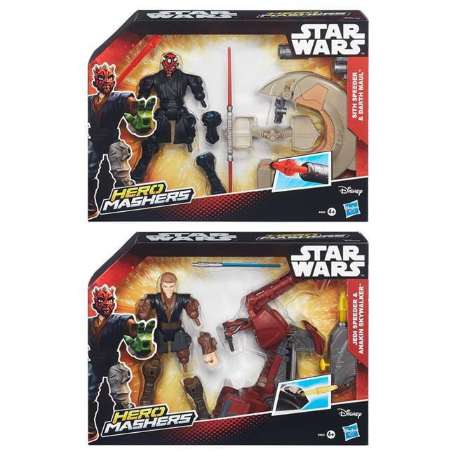 Hasbro HSBB3831 Star Wars Hero Mashers Speeders Assortment Toys by Hasbro