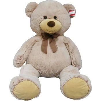 Holiday Time 2-Tone Brown Bear Jumbo Plush
