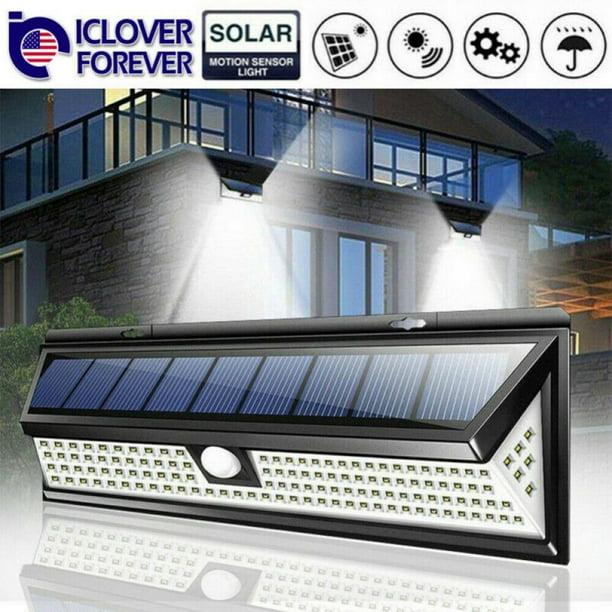 Details about  /Solar Powered LED Waterproof Motion Sensor Walkway Garden Patio Garage Light