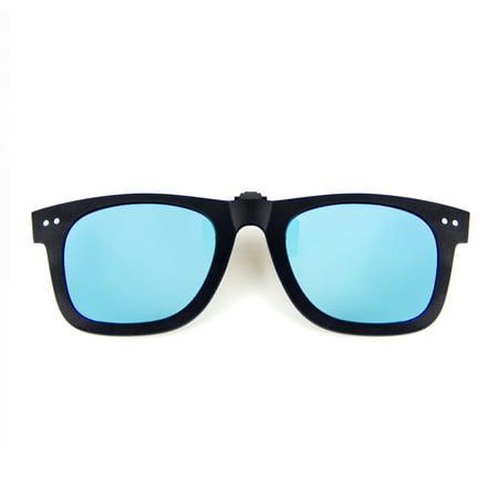 Cyxus Clip On Polarized Lens Sunglasses UV400 Lightweight Men/Women Eyewear (Sunglasses Clearance Kohl)