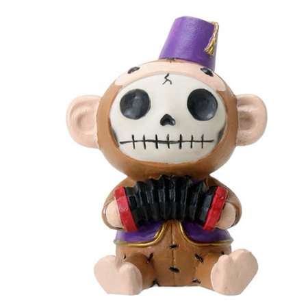 Monkey Halloween Face Painting Ideas (Furrybones Fez Munky Skeleton in Monkey Costume Halloween)