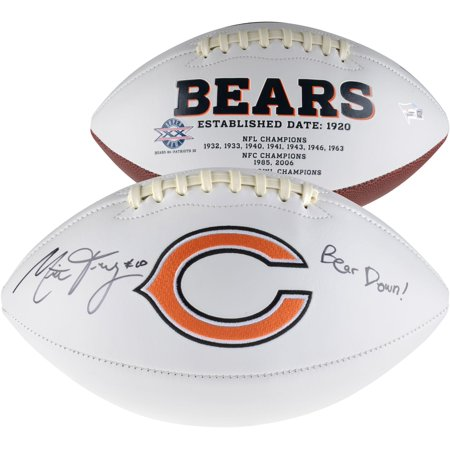 Mitchell Trubisky Chicago Bears Autographed White Panel Football with