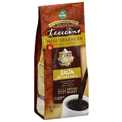 Teeccino Java Medium Roast Herbal Coffee
