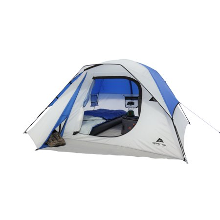 Ozark Trail 4 Person Camping Dome Tent (Tent Package)