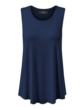 7b47b1ee0cc3bf Product Image Made by Johnny MBJ WT902 Womens Basic Loose Fit Tank Top XXXL  Heather Charcoal