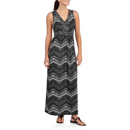 Fourteenth Place Women's Braided Neck Maxi Dress
