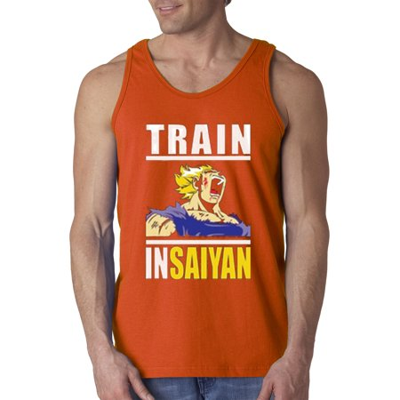 dbdcdd6331 New Way - New Way 292 - Men's Tank-Top Train Insaiyan Gym Goku Dbz Dragon  Ball Z - Walmart.com