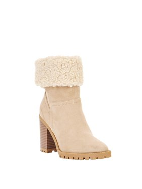 Scoop Stacey Shearling Fold Over Boots Women's