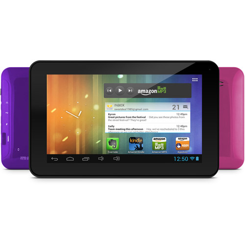"Ematic 7"" Tablet 4GB Memory"