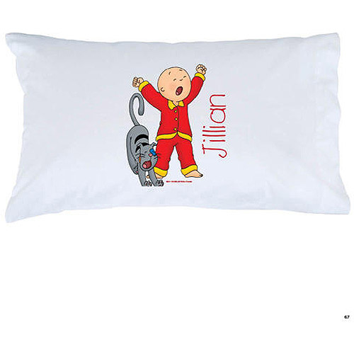 Personalized Caillou Stretch Gilbert Pillowcase