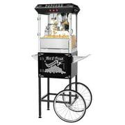 Popcorn Popper Machine with Cart