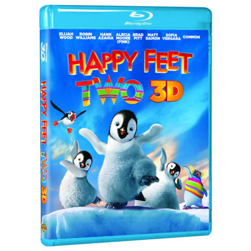 Happy Feet Two (3D Blu-ray + DVD) (With INSTAWATCH) (Widescreen)