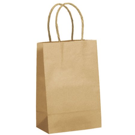 JAM Paper Shopping Bag, Mini, 5 1/2