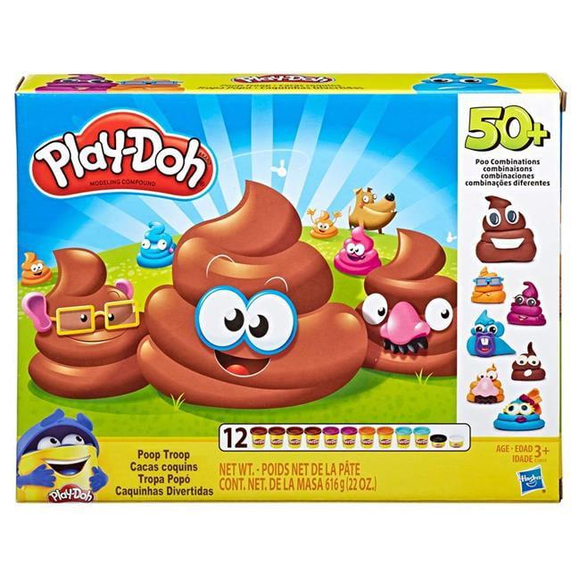 Hasbro HSBE5810 Play-Doh Poop Troop Set, Pack of 4