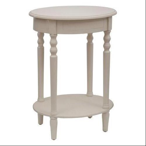 Simplify Oval Accent Table Espresso