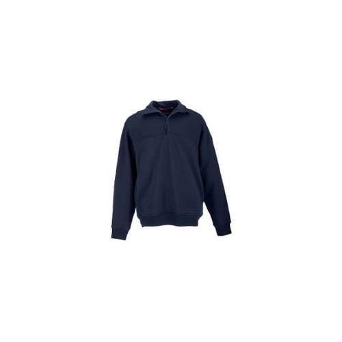 5.11 Tactical Storm 1/4 Zip Job Shirt, Fire Navy