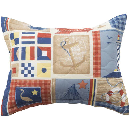 Mainstays Home From The Sea Bedding Quilt by Generic