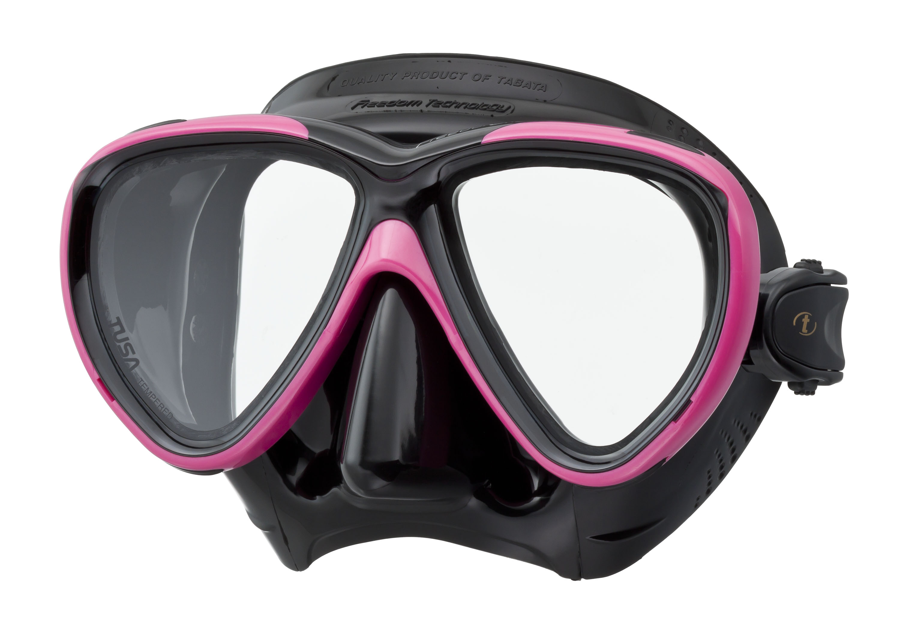 Tusa M-211 Black Freedom One Scuba Diving and Snorkeling Mask by Tusa