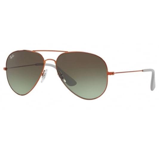 Unisex Rb 3558 Sunglasses, Bronze, 58 Ray-Ban