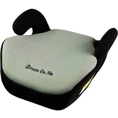 Dream on Me Coupe Booster Car Seat, Gray