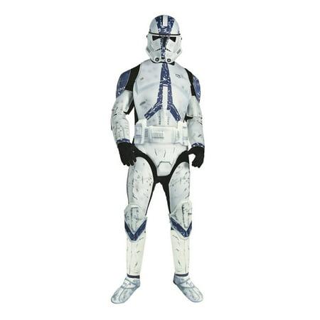 Star Wars Mens Dlx. Clone Trooper Costume](Star Wars Clone Costume)