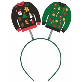 UGLY CHRIS.SWEATER HEADBAND BOPPERS - Head Boppers Wholesale