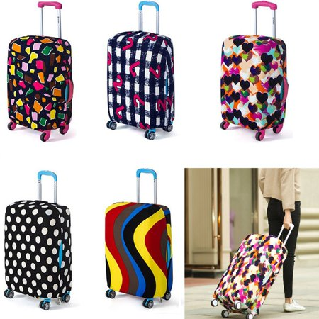 Elastic Suitcase Luggage and Travel Bags Cover Anti-scratch Dustproof Protector Fits 18-20 Inch (Best One Bag Travel Bag)