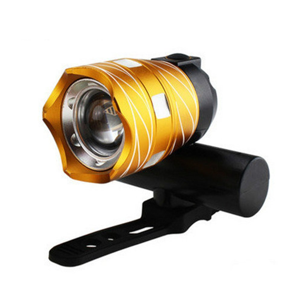 USB Rechargeable XML T6 LED Bicycle Bike Front Light Cycling Head Lamp