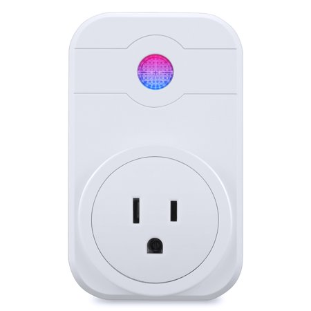 Smart Plug Wifi Mini Socket Outlet Wireless timing Smart Switch Remote Controlled Sockets Compatible with Amazon Alexa, Echo and Echo Dot for IOS and Android with Voice Control