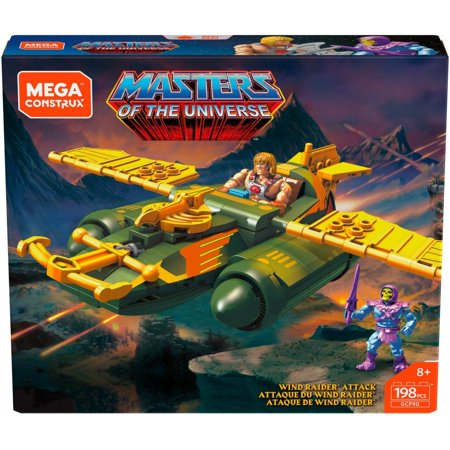 Mega Construx Probuilder Masters of the Universe Wind Raider Attack