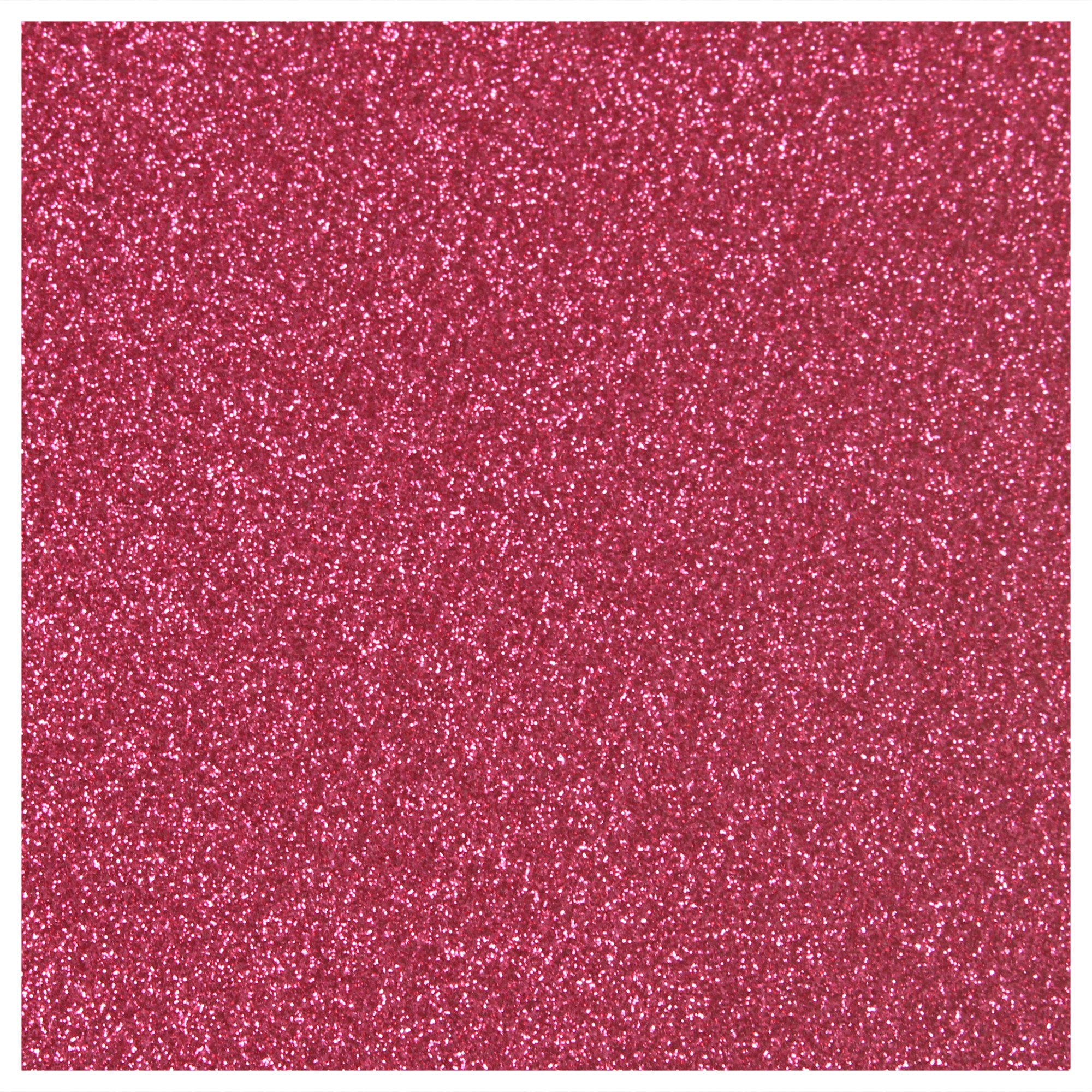 Siser Glitter Heat Transfer Material 20 in x 3 ft Roll - 45 Colors Available