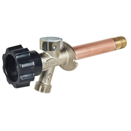 1/2 in. x 14 in. Brass MPT x SWT Half-Turn Frost Free Anti-Siphon Outdoor Faucet Sillcock