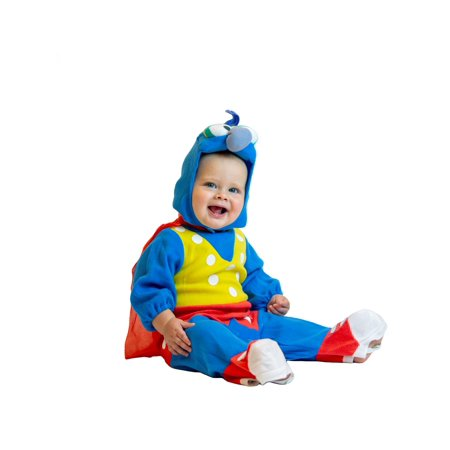 The Muppets Studios Gonzo Halloween Costume for Kids ? 0-6 Month Child - 0-6 Months - - Muppet Halloween Costumes Babies
