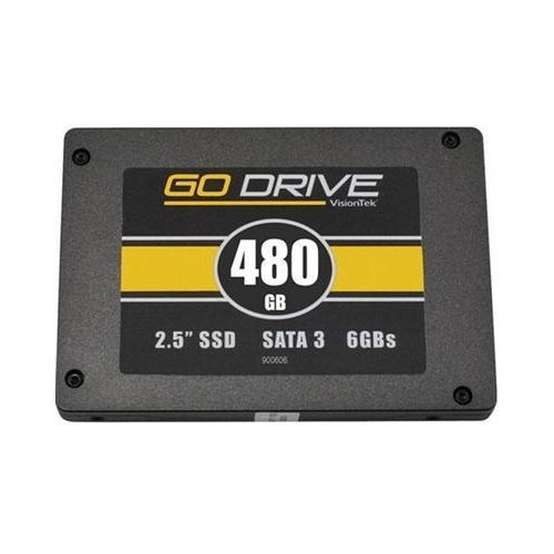 "VisionTek GoDrive 480 GB 2.5"" Internal Solid State Drive 900625"