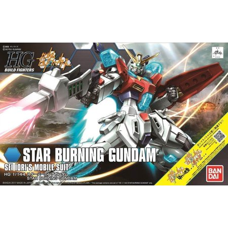 - Bandai Build Fighters GM's Counterattack Star Burning Gundam HG 1/144 Model Kit