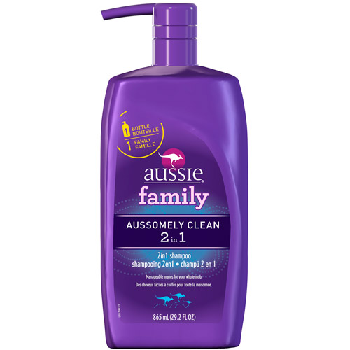 Aussie Family Aussomely Clean, 2 in, 1 Shampoo & Conditioner, 29.2 fl oz