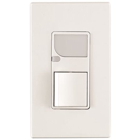 LEVITON DECORA COMBO SWITCH LED GUIDE LIGHT 15 AMPS 120 VOLT IVORY per 2 Each