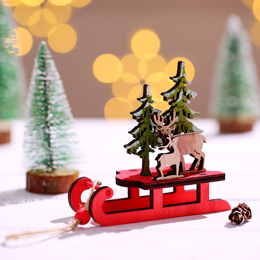 Advent calendar wooden sledge advent calendar sledge