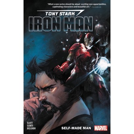 Tony Stark: Iron Man Vol. 1 : Self-Made - Halloween Tony Stark