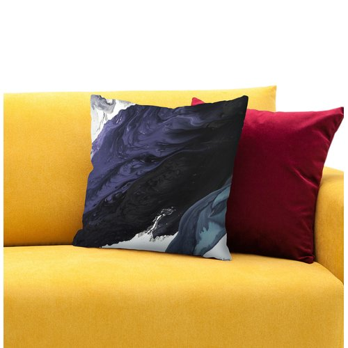 East Urban Home Rain Throw Pillow