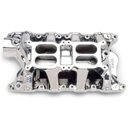 Air Gap Dual Quad Manifold - Edelbrock 75854 RPM Air Gap Dual-Quad - Intake Manifold