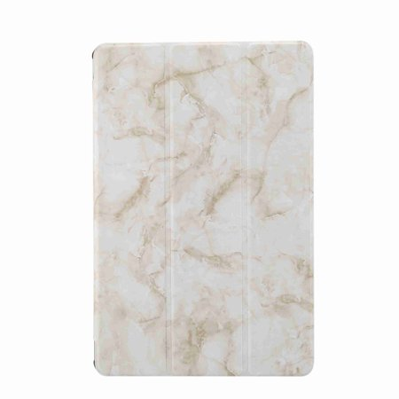 For Galaxy Tab S5e 10.5 2019 Release T720 T725 Case, Dteck Ultra Slim PU Leather + PC Marble Patterned Shockproof Kickstand Protective Cover ,