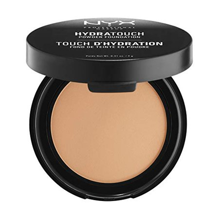 Amber Foundation (NYX PROFESSIONAL MAKEUP Hydra Touch Powder Foundation, Amber, 0.31 Ounce )